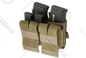 Podw__jna __adownica combo na magazynki typu M4 MOLLE - Coyote Brown_1.jpg